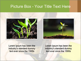 Woman Taking Care About Plants PowerPoint Template - Slide 18