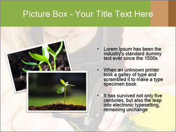 Woman Taking Care About Plants PowerPoint Template - Slide 20