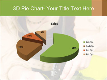 Woman Taking Care About Plants PowerPoint Template - Slide 35