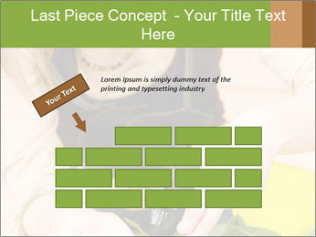 Woman Taking Care About Plants PowerPoint Template - Slide 46