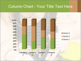 Woman Taking Care About Plants PowerPoint Template - Slide 50