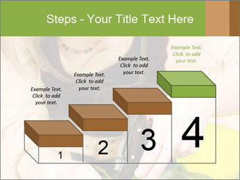 Woman Taking Care About Plants PowerPoint Template - Slide 64