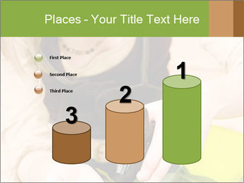 Woman Taking Care About Plants PowerPoint Template - Slide 65