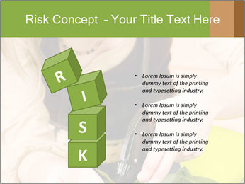Woman Taking Care About Plants PowerPoint Template - Slide 81