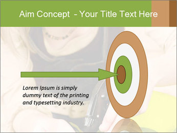 Woman Taking Care About Plants PowerPoint Template - Slide 83