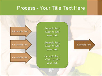 Woman Taking Care About Plants PowerPoint Template - Slide 85