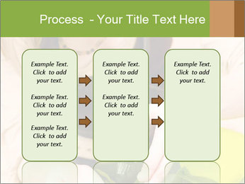 Woman Taking Care About Plants PowerPoint Template - Slide 86