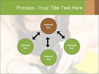Woman Taking Care About Plants PowerPoint Template - Slide 91