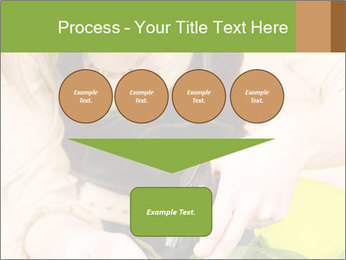 Woman Taking Care About Plants PowerPoint Template - Slide 93