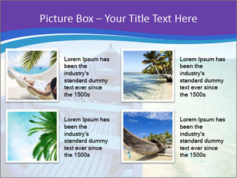 Rural Blue Boat PowerPoint Templates - Slide 14