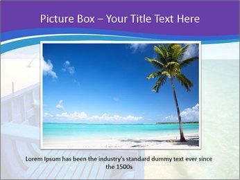 Rural Blue Boat PowerPoint Template - Slide 15