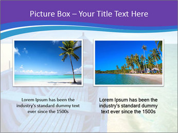 Rural Blue Boat PowerPoint Template - Slide 18