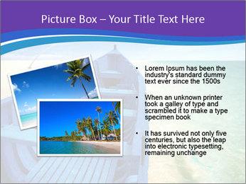 Rural Blue Boat PowerPoint Template - Slide 20
