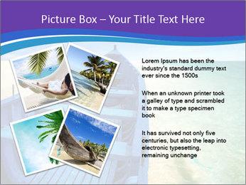 Rural Blue Boat PowerPoint Templates - Slide 23
