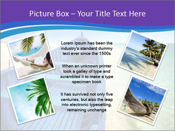 Rural Blue Boat PowerPoint Templates - Slide 24