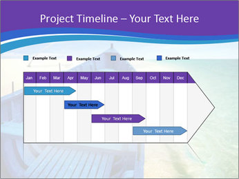 Rural Blue Boat PowerPoint Template - Slide 25