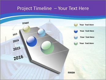 Rural Blue Boat PowerPoint Template - Slide 26