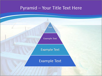 Rural Blue Boat PowerPoint Templates - Slide 30