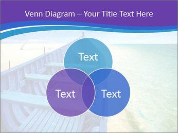 Rural Blue Boat PowerPoint Template - Slide 33