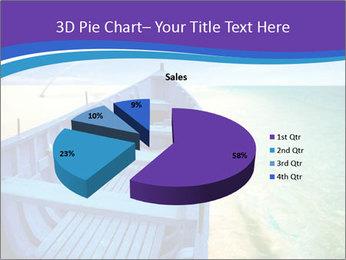 Rural Blue Boat PowerPoint Templates - Slide 35