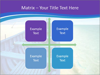 Rural Blue Boat PowerPoint Template - Slide 37