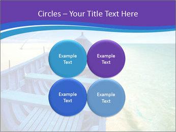 Rural Blue Boat PowerPoint Template - Slide 38