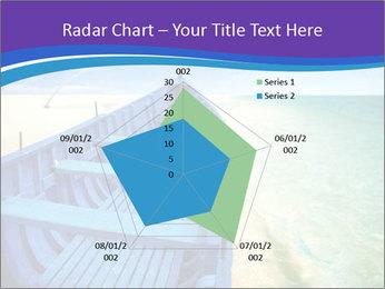 Rural Blue Boat PowerPoint Template - Slide 51