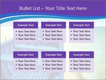 Rural Blue Boat PowerPoint Template - Slide 56