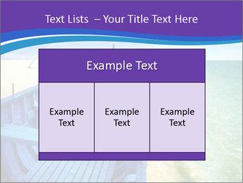 Rural Blue Boat PowerPoint Template - Slide 59