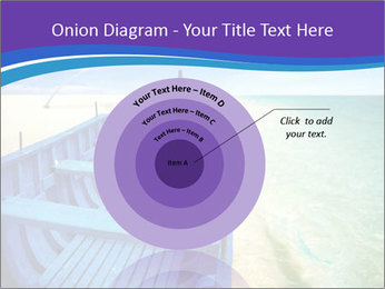 Rural Blue Boat PowerPoint Template - Slide 61