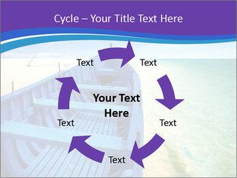 Rural Blue Boat PowerPoint Template - Slide 62