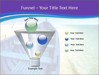 Rural Blue Boat PowerPoint Template - Slide 63