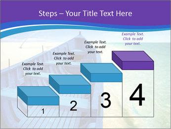 Rural Blue Boat PowerPoint Template - Slide 64