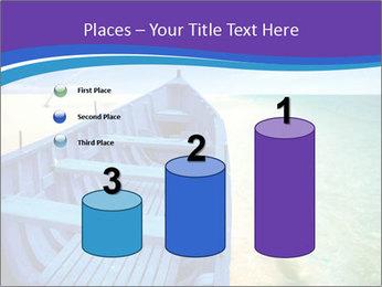 Rural Blue Boat PowerPoint Template - Slide 65