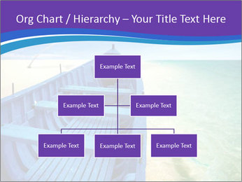 Rural Blue Boat PowerPoint Template - Slide 66