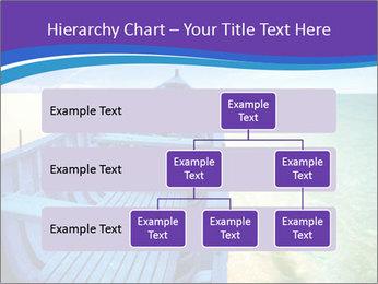 Rural Blue Boat PowerPoint Template - Slide 67