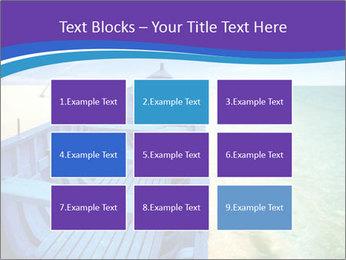 Rural Blue Boat PowerPoint Templates - Slide 68