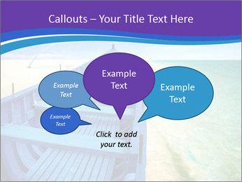 Rural Blue Boat PowerPoint Template - Slide 73