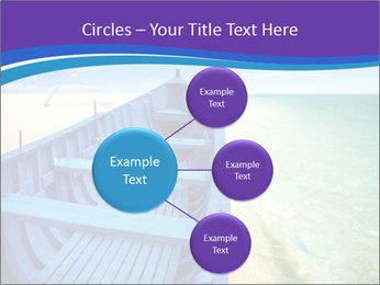 Rural Blue Boat PowerPoint Template - Slide 79
