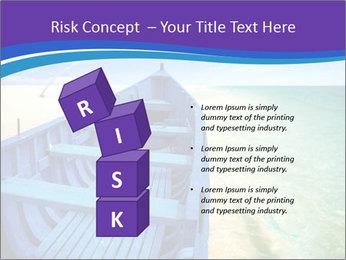 Rural Blue Boat PowerPoint Templates - Slide 81