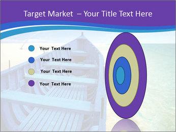 Rural Blue Boat PowerPoint Templates - Slide 84