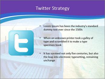 Rural Blue Boat PowerPoint Template - Slide 9
