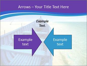 Rural Blue Boat PowerPoint Template - Slide 90