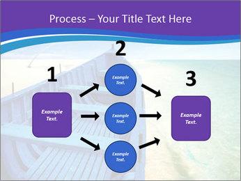 Rural Blue Boat PowerPoint Template - Slide 92
