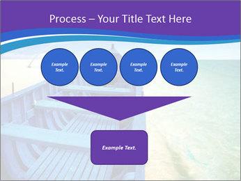 Rural Blue Boat PowerPoint Template - Slide 93