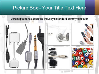 Cables of Digital Devices PowerPoint Template - Slide 19
