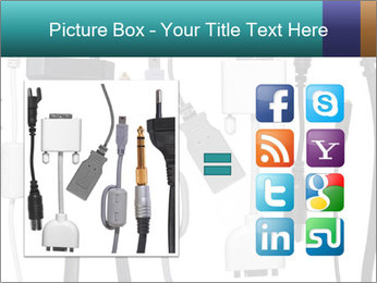 Cables of Digital Devices PowerPoint Templates - Slide 21