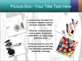 Cables of Digital Devices PowerPoint Template - Slide 24