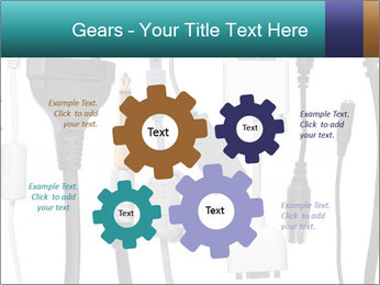 Cables of Digital Devices PowerPoint Templates - Slide 47