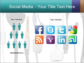 Cables of Digital Devices PowerPoint Template - Slide 5